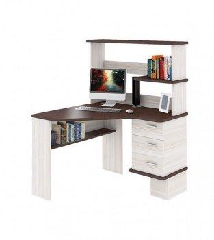 угловой компьютерный стол с надстройкой сд 45 купить в интернет